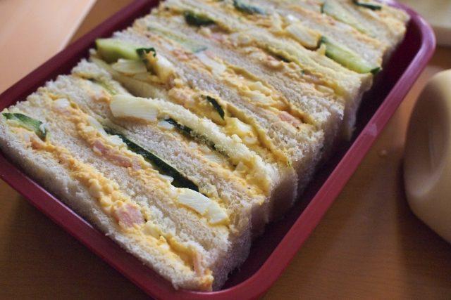 手作りサンドイッチの賞味期限